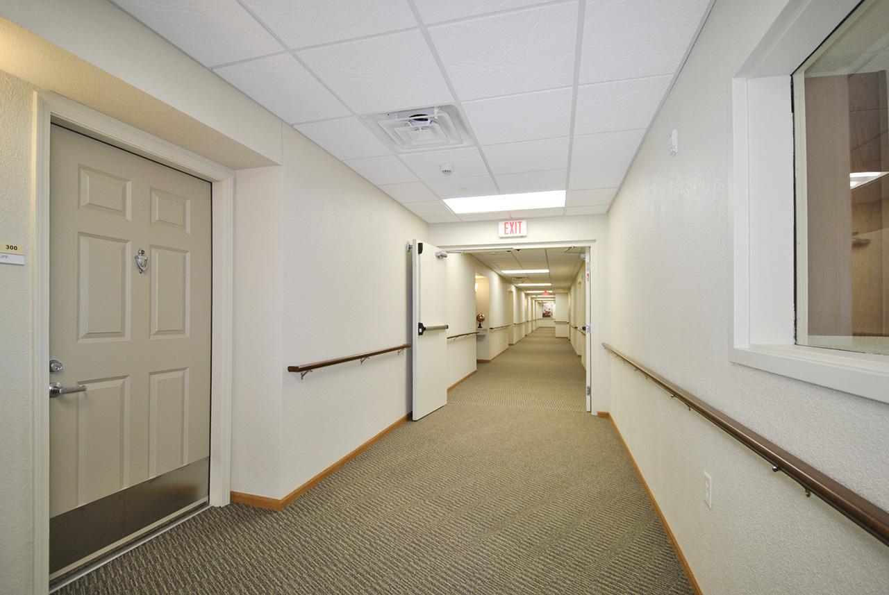 Hallway at Grandhaven Manor