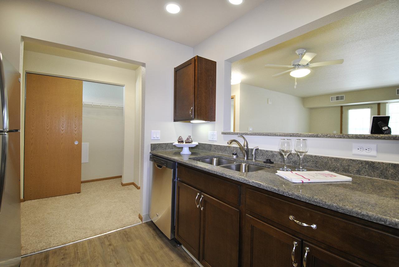 Kitchen in Grandhaven Manor apartment