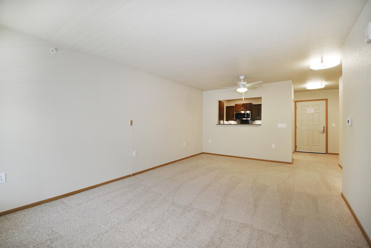 Empty interior of Grandhaven Manor apartment