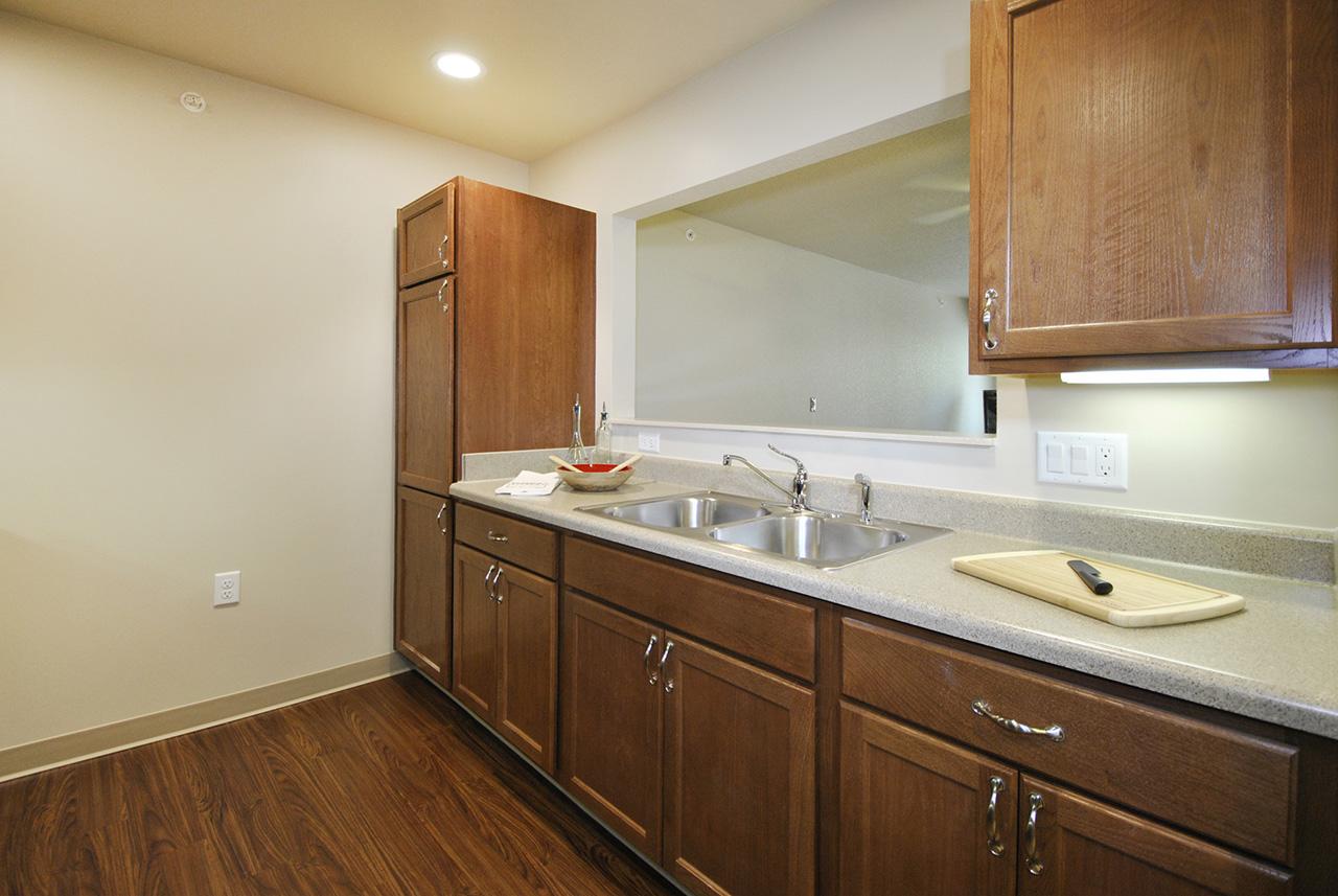 Kitchen of Grandhaven Manor apartment