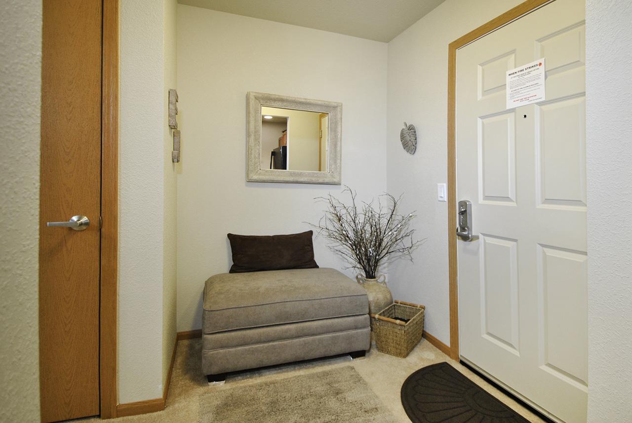 Grandhaven Manor apartment entrance door