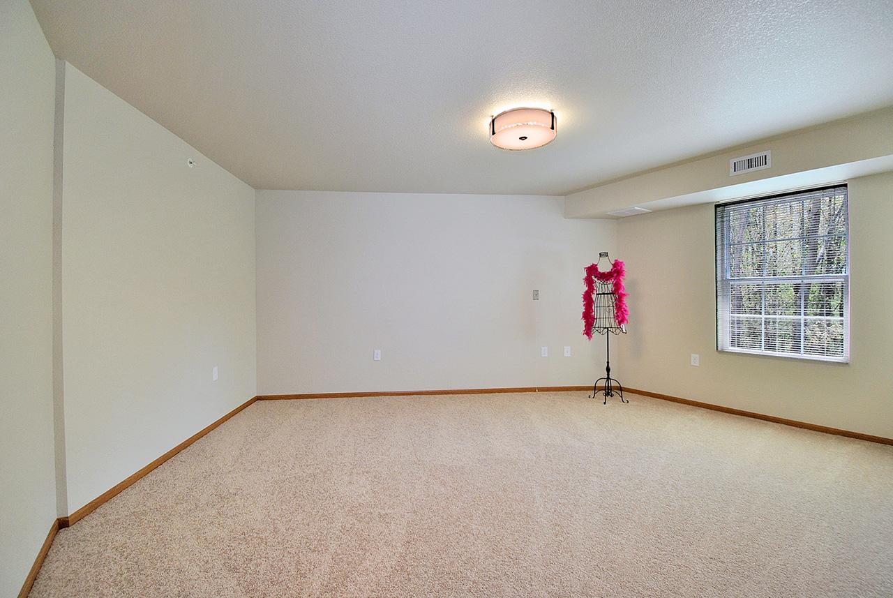 Empty interior room at Grandhaven Manor