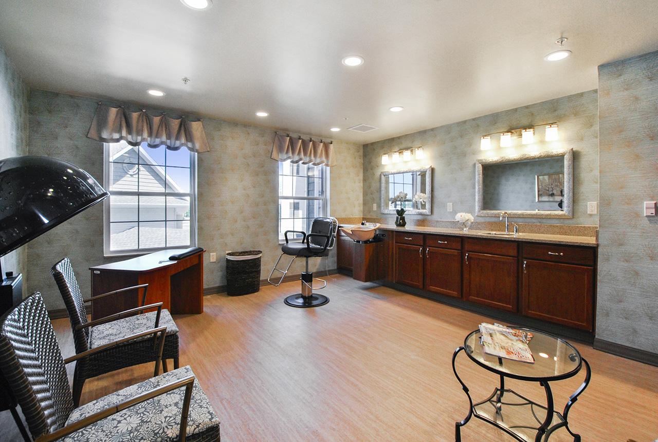 Grandhaven Manor salon interior